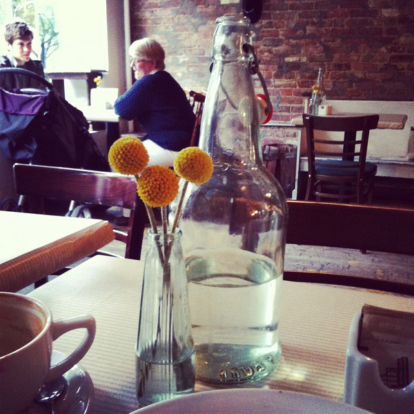 The Iris Cafe, my favorite coffee spot in Brooklyn Heights