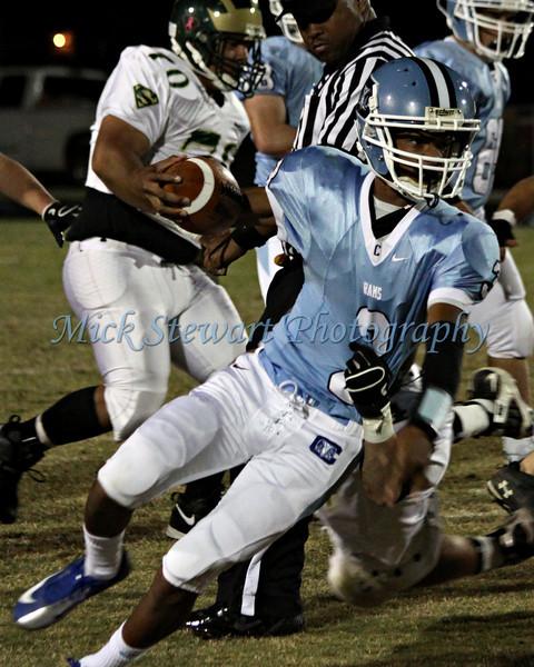 Football v South Johnston 10-19-12