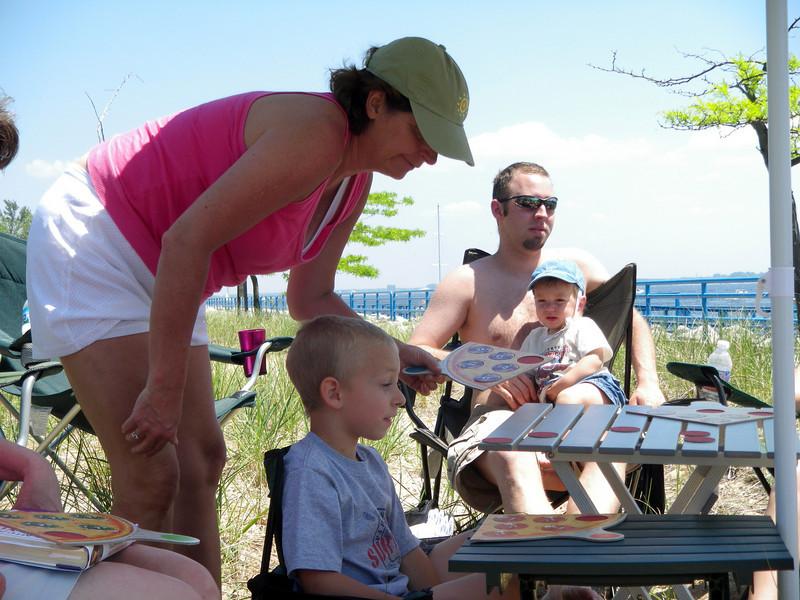 Karen, Alan, Phil with Jason.