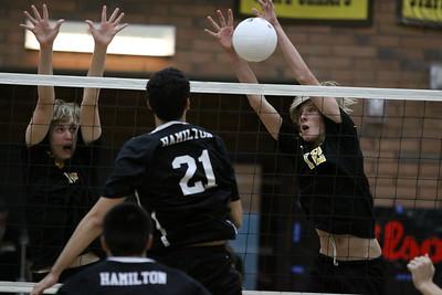 2012 Boys Volleyball - Gilbert vs Hamilton 5-10-12