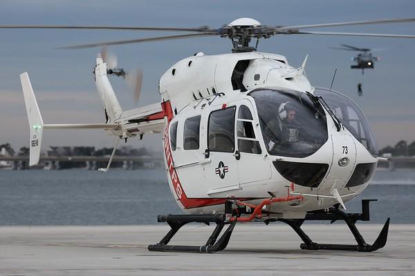 "US Navy LUH-72A ""Lakota"", Norfolk, 04Feb20"