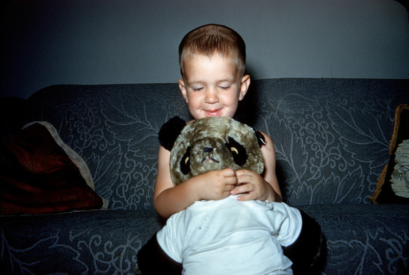 richard with original teddy bear.jpg