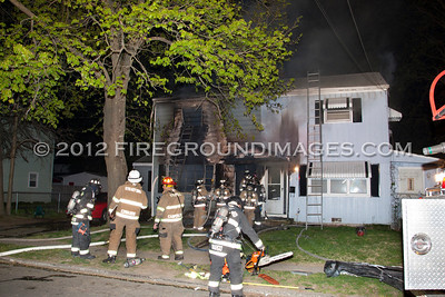 Columbus Ave. Fire (Stratford, CT) 4/21/12