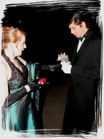 Vincenzo and Alexandra Prom