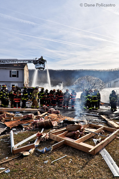1-16-12 West Haverstraw, NY Multiple Alarm House Explosion: 23 Zarriello Lane