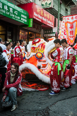 Chinese New Year Parade [Travel Photography]