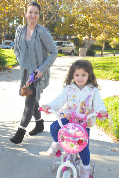 Fiorella and Family at the Park