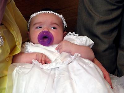 Isabella Roman's Baptism