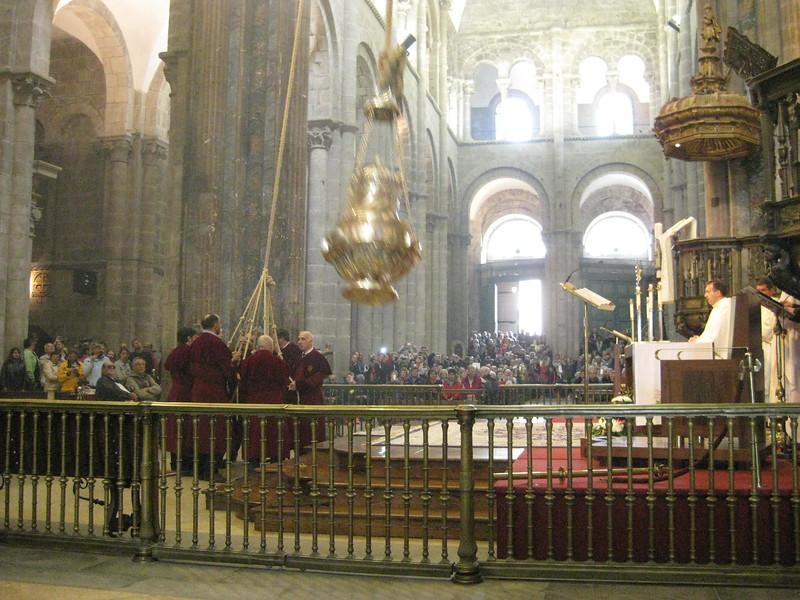 Botafumeiro, Cathedral of Santiago de Compostela - Johanna Frymoyer *12