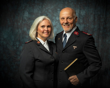 Major and Mrs Long