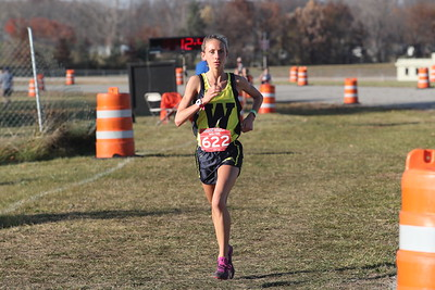 D4 Girls at 2 Miles Section 1 - 2020 MHSAA LP XC