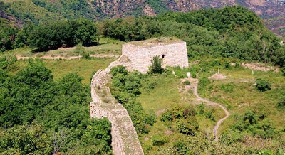 7 Tower Great Wall,Huangcaoliang grassland. Ling mountain
