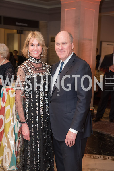 Ambassador Kelly Craft, Joe Craft, National Archives Foundation, Records of Achievement Gala, Honoring First Lady Laura Bush.  October 10, 2018.  Photo by Ben Droz.