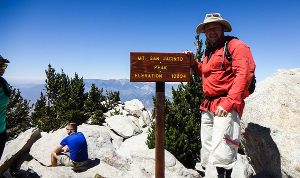 Mt San Jacinto Group Hike Hiking with Friends, September 7, 2019