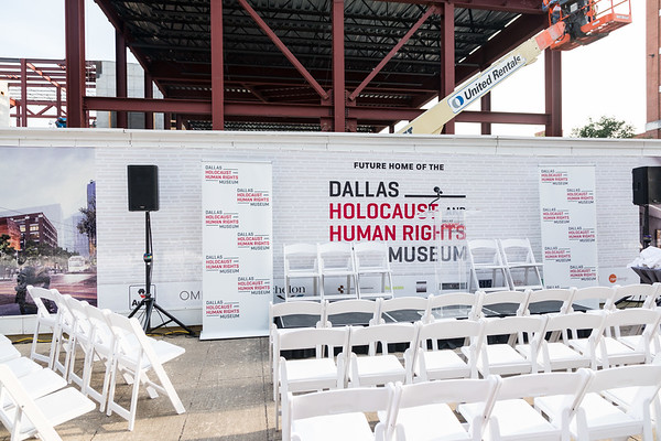Topping Off Ceremony - Dallas Holocaust and Human Rights Museum