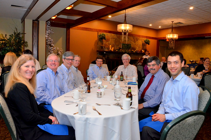 L to R, Ann-Marie, Greg, Dart, Larry, Mark, Mike, Mike, Stephen