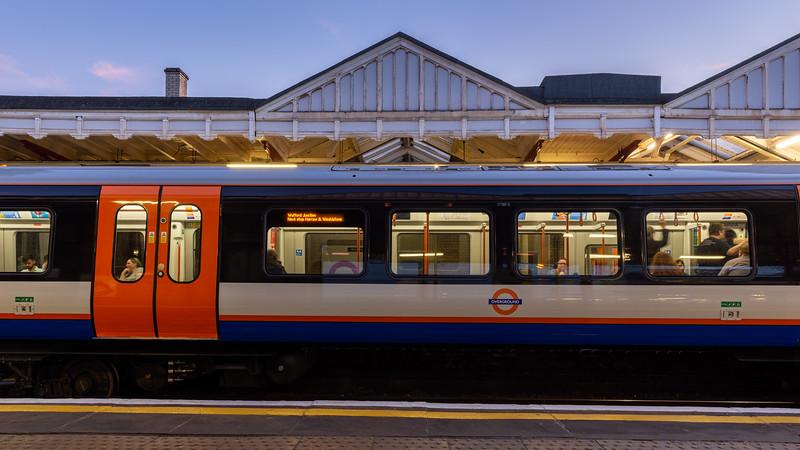 Class 710 London Overground train