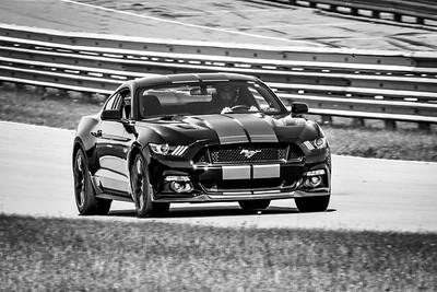 2021 SCCA TNiA Pitt May 20 Blk Mustang Slv Stripes