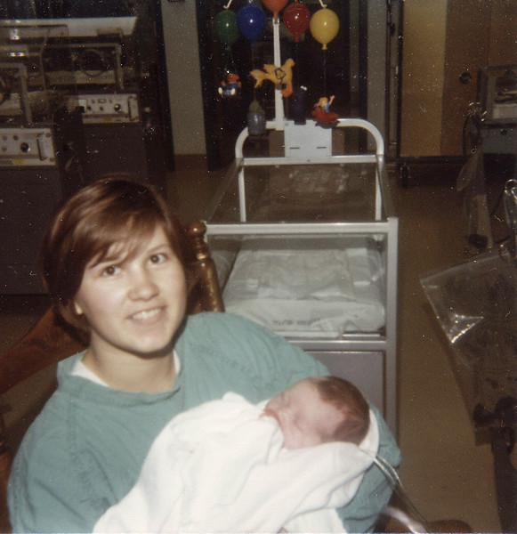 Annette Clupper (Grant) and Aaron Clupper, Wabash, Indiana - 1980
