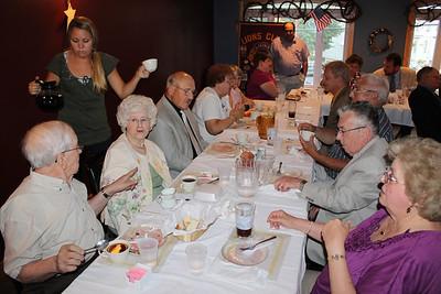 Tamaqua Lions Club Installation Dinner, Schick's, Tamaqua (6-28-2011)
