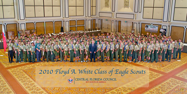 2010 Floyd A. White Class of Eagle Scouts