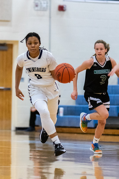 2020-01-11 -- Twinsburg Girls Varsity Basketball vs Nordonia High School Varsity Basketball