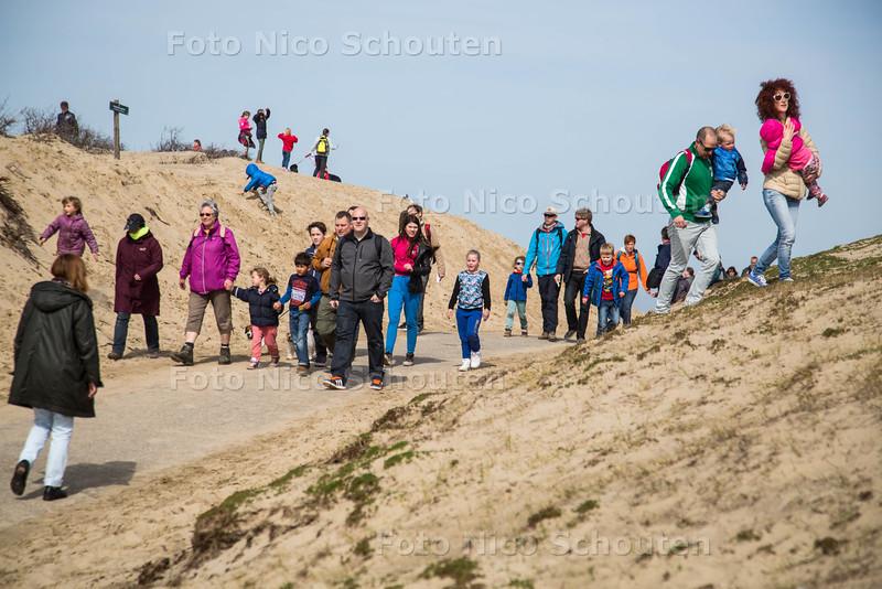 Duinenmars - DEN HAAG 12 APRIL 2015 - FOTO NICO SCHOUTEN