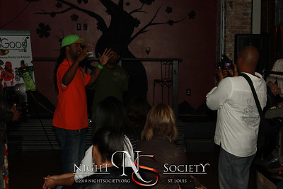 Good 4 U TV Show Premiere Ft Kyjuan and Murphy Lee at The Label 10-06-10