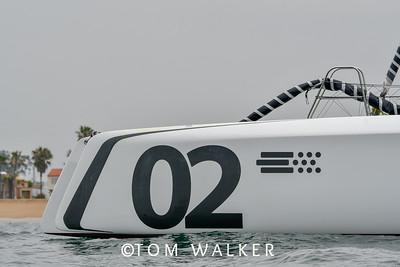 2018 Newport to Ensenada Mexico Yacht Race Start Photos