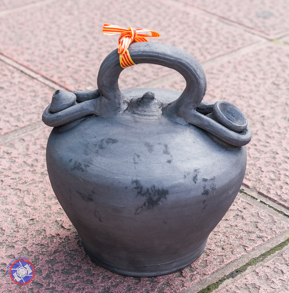 Gift of a Beautiful Clay Pot Typically Used for Storing and Dispensing Liquids (©simon@myeclecticimages.com)