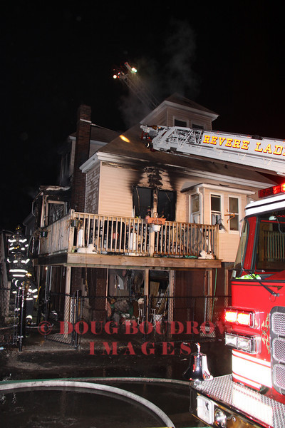 Revere, MA - Working Fire, 439 American Legion Highway