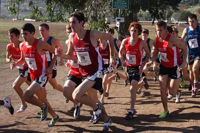 2010 Footlocker Boys Race San Diego Athletes