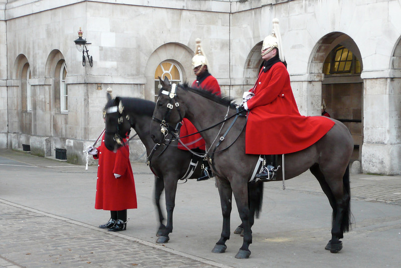 Horse Guards Parade. London