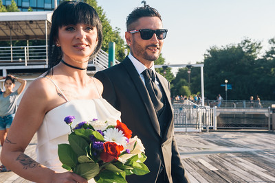 Brooklyn Bridge Pier 1 Elopement