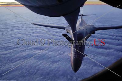 USAF Rockwell International B-1 Lancer Aerial Refueling Pictures