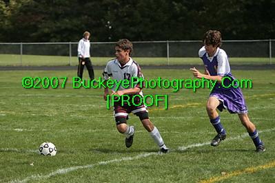 20071013 - Avon vs Avon Lake Boys JV Soccer