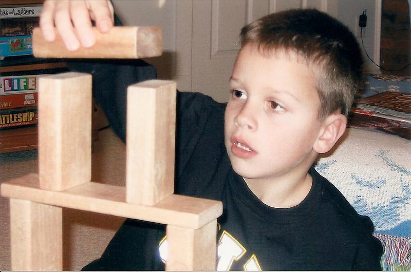 Caleb - Christmas 2004