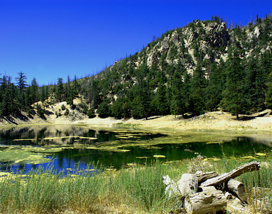 Weekend Camping at Crystal Lake