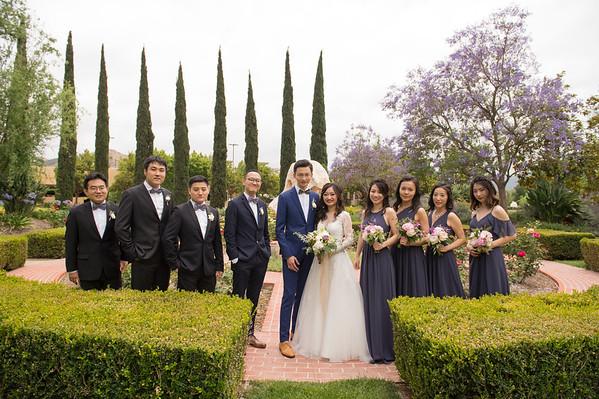 Claudia & Sibao: Bridal Party & Family