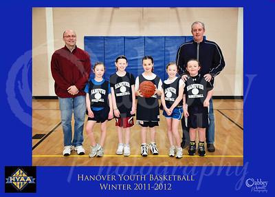 HYAA Girls Basketball Winter 12
