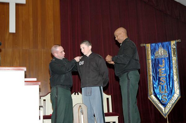 Rank Pinning for Battalion Commander