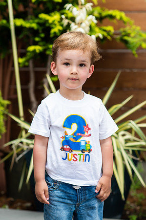 Justin - 02 anos