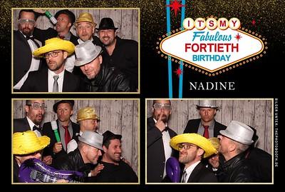 Nadine 40er Party