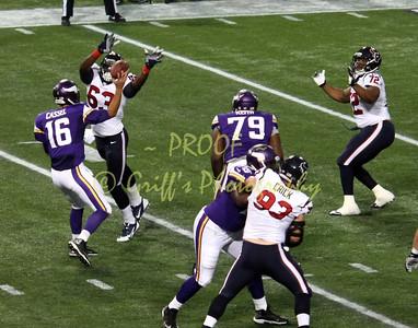 MN Vikings vs Houston Texans preseason (Aug 9, 2013)
