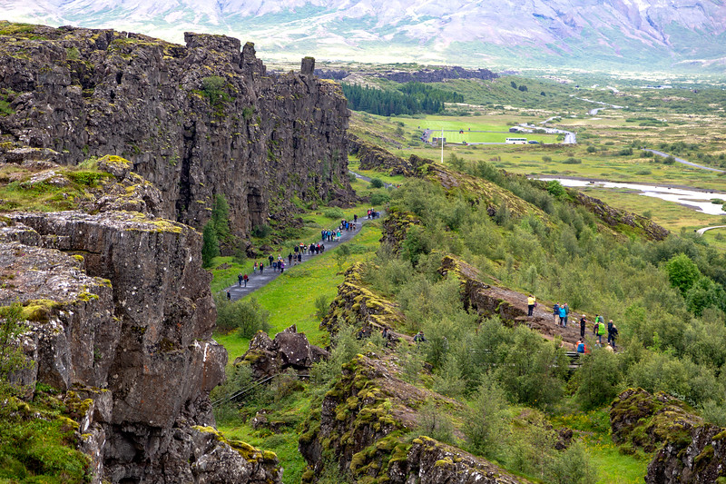 This is the eastern edge of the North American tectonic plate ...