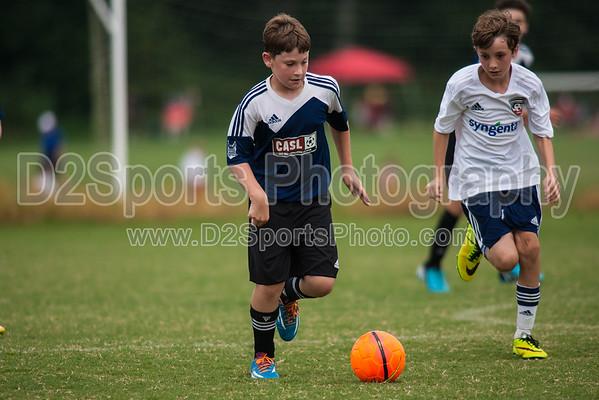 GUSA U12 B STARS vs CASL KNIGHTS - U12 Boys 8/17/2014