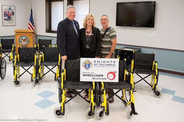 Distribution at the Audie Murphy VA Medical Center