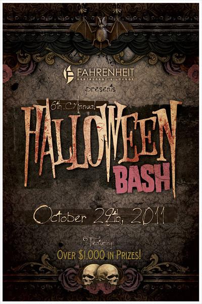 The 5th Annual Halloween Bash @ Fahrenheit Ultra Lounge 10.29.11