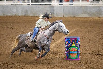 Ashley Brooks Memorial Barrel Race - 1-5-21