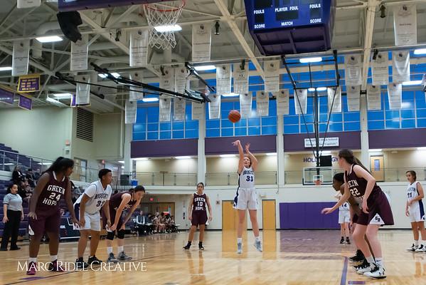 Broughton JV girls basketball vs Green Hope. December 4, 2018, 750_2357